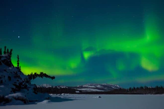Nordlys eller aurora borealis